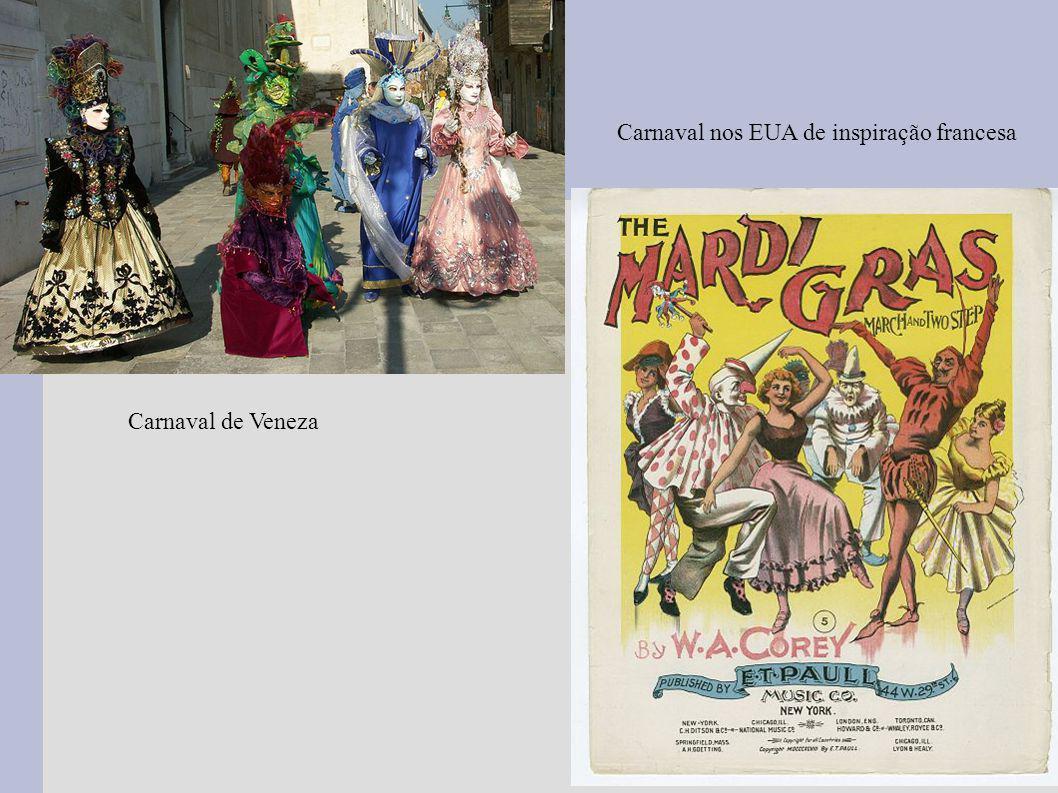 Carnaval nos EUA de inspiração francesa