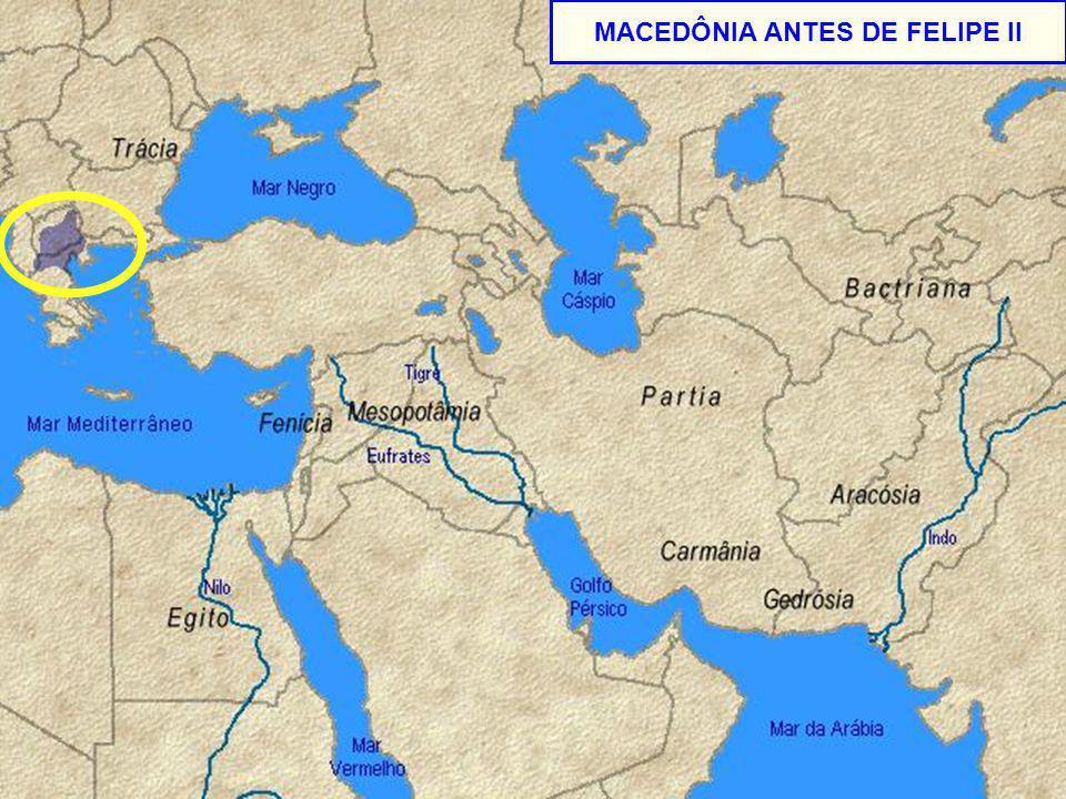 MACEDÔNIA ANTES DE FELIPE II