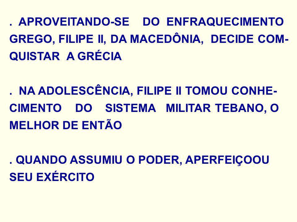. APROVEITANDO-SE DO ENFRAQUECIMENTO