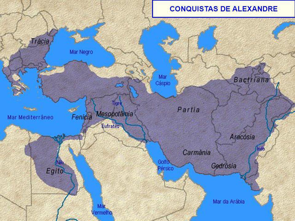 CONQUISTAS DE ALEXANDRE