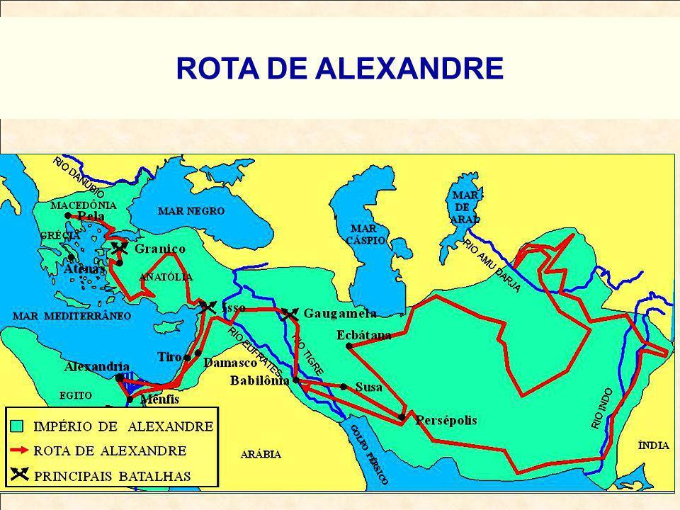 ROTA DE ALEXANDRE