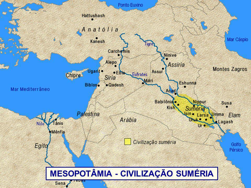 MESOPOTÂMIA - CIVILIZAÇÃO SUMÉRIA