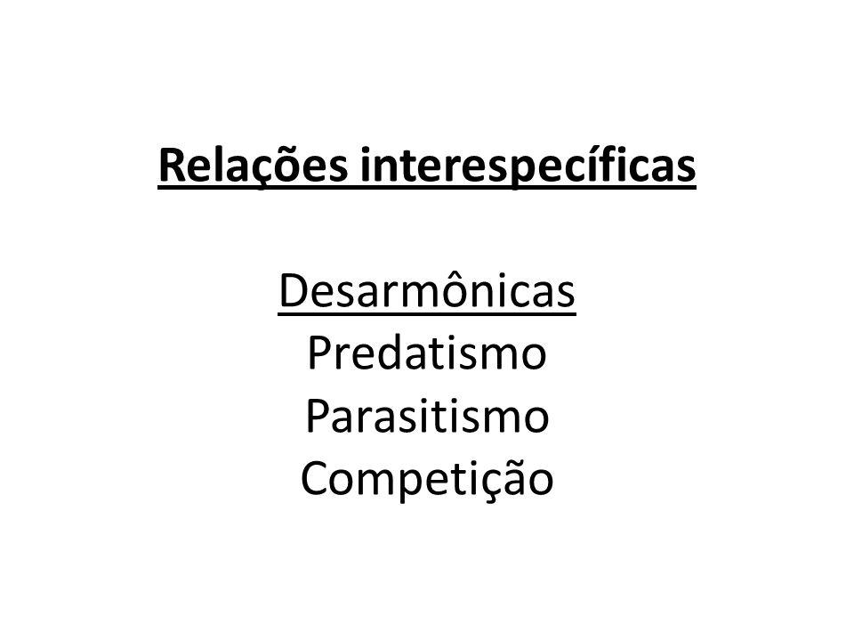 Relações interespecíficas