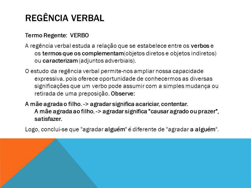 Regência verbal