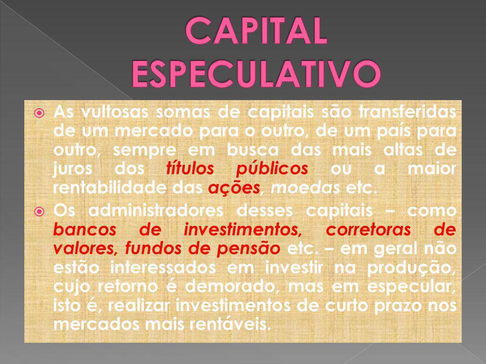 CAPITAL ESPECULATIVO