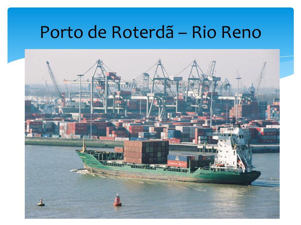 Porto de Roterdã – Rio Reno