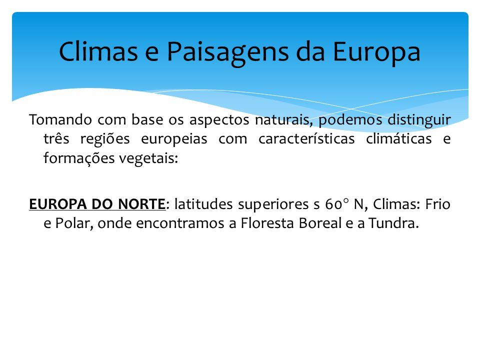 Climas e Paisagens da Europa