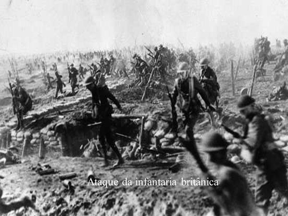 Ataque da infantaria britânica
