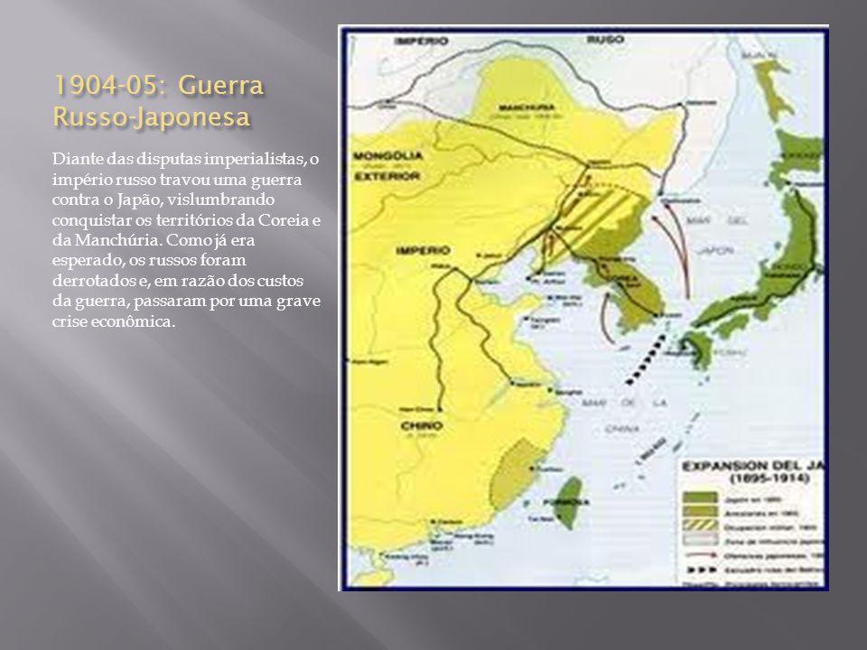 1904-05: Guerra Russo-Japonesa