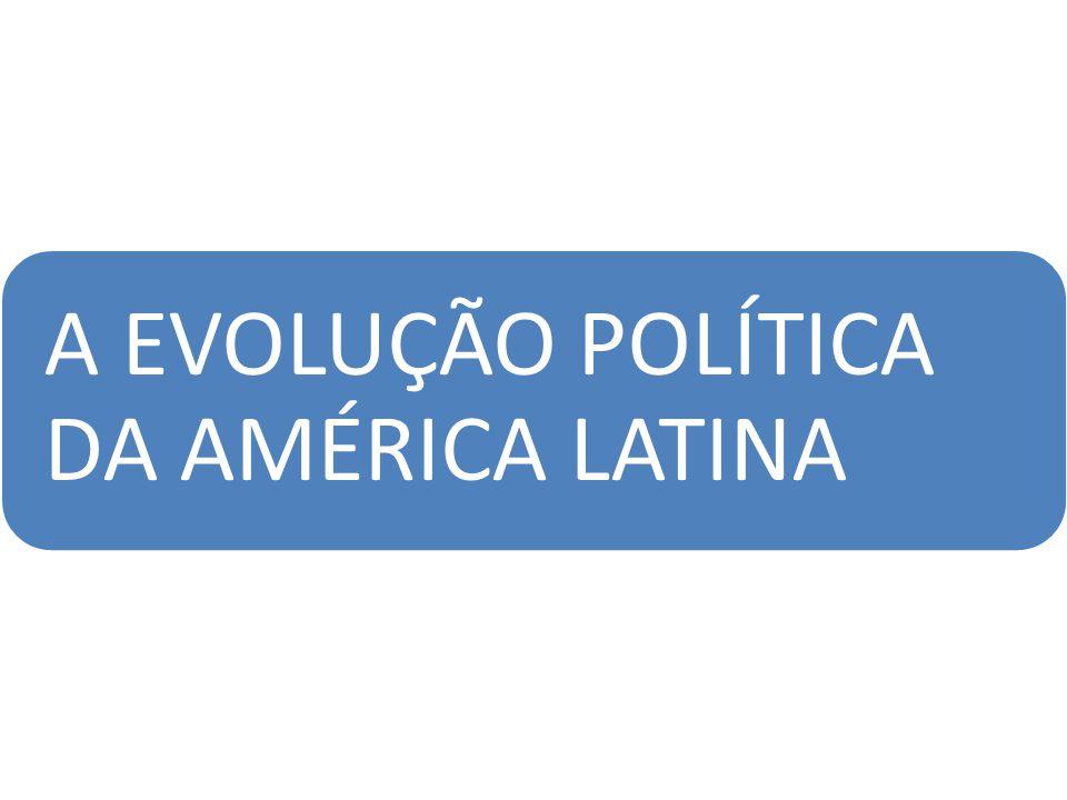 A EVOLUÇÃO POLÍTICA DA AMÉRICA LATINA