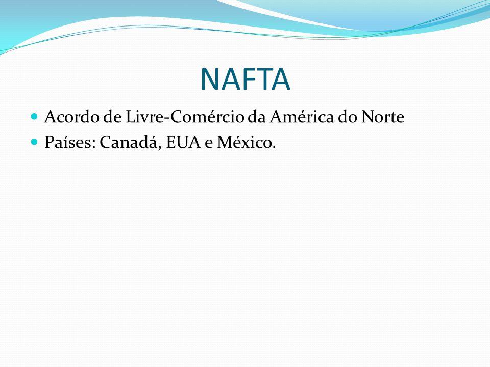 NAFTA Acordo de Livre-Comércio da América do Norte