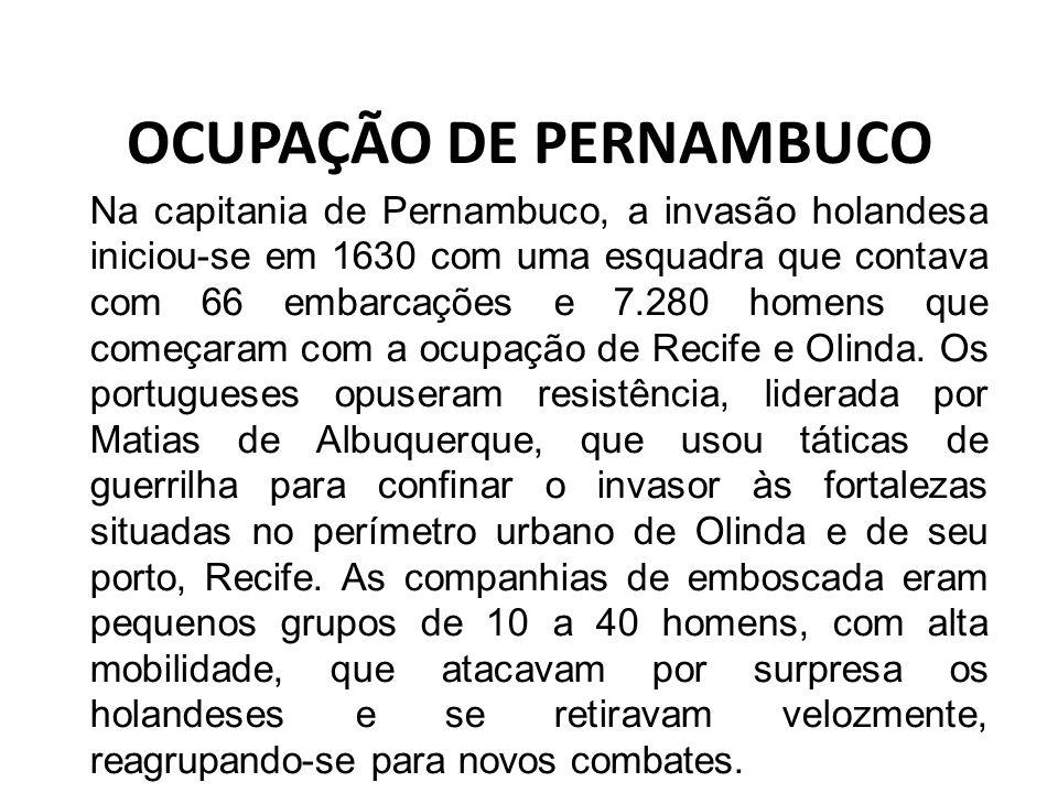 OCUPAÇÃO DE PERNAMBUCO