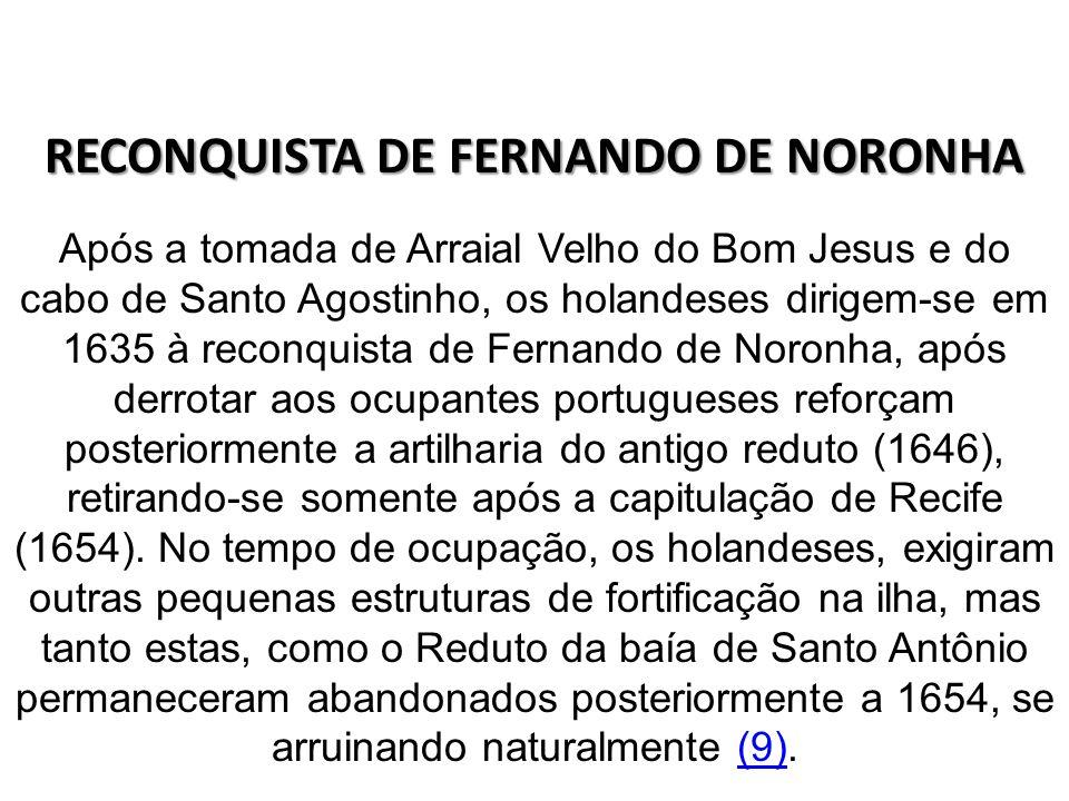 RECONQUISTA DE FERNANDO DE NORONHA