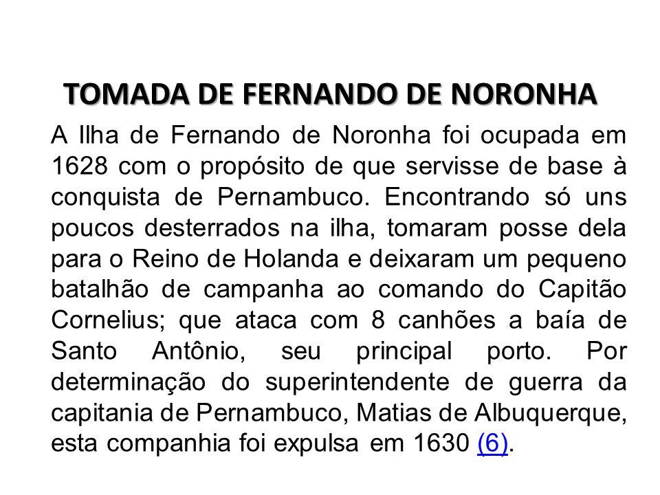 TOMADA DE FERNANDO DE NORONHA