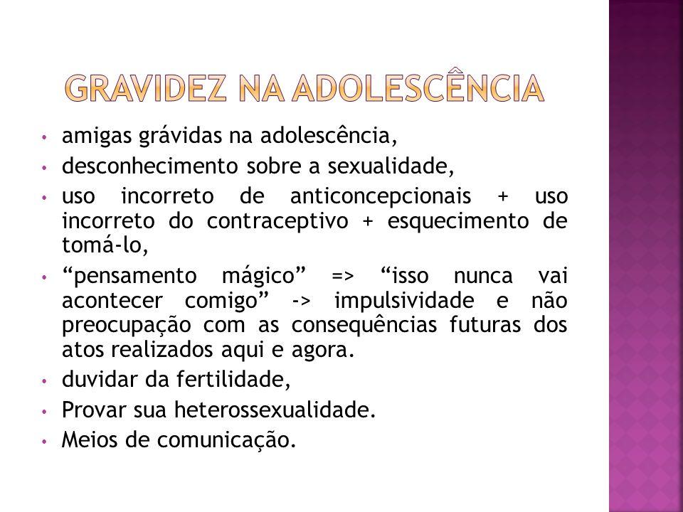 GRAVIDEZ NA ADOLESCÊNCIA