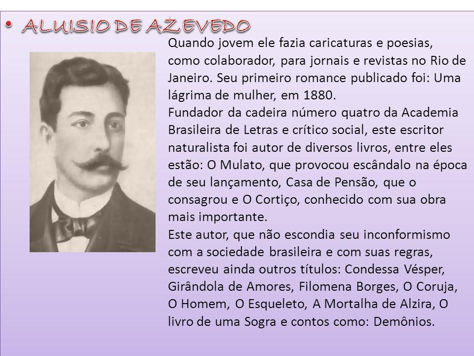 ALUISIO DE AZEVEDO