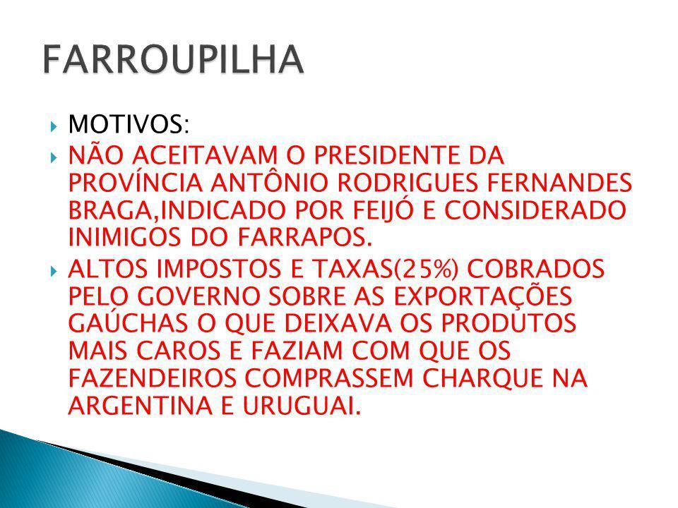FARROUPILHA MOTIVOS:
