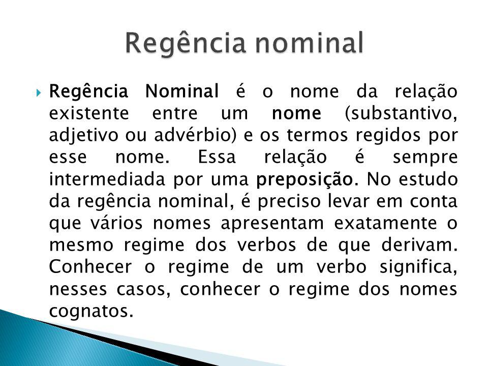 Regência nominal