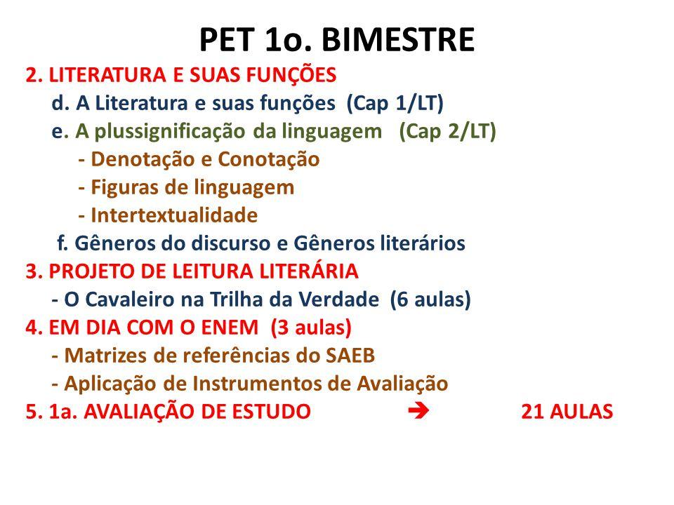 PET 1o. BIMESTRE