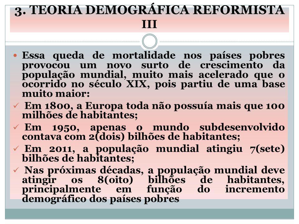 3. TEORIA DEMOGRÁFICA REFORMISTA III