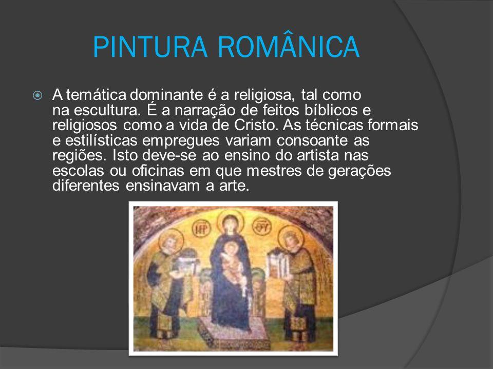 PINTURA ROMÂNICA