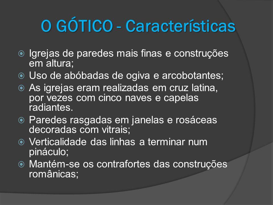 O GÓTICO - Características
