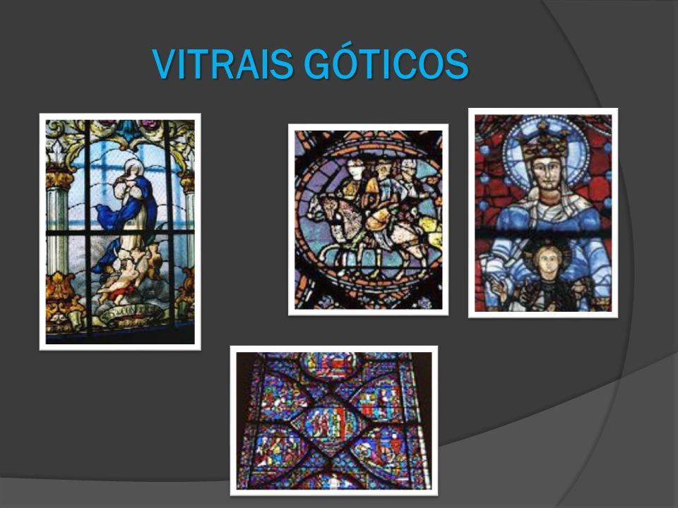 VITRAIS GÓTICOS