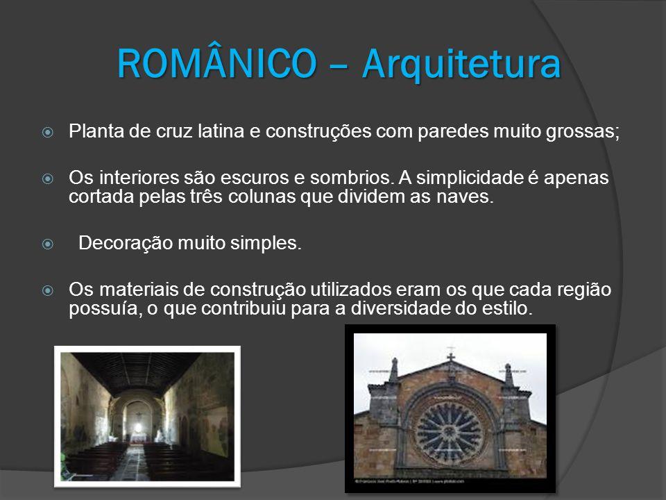 ROMÂNICO – Arquitetura