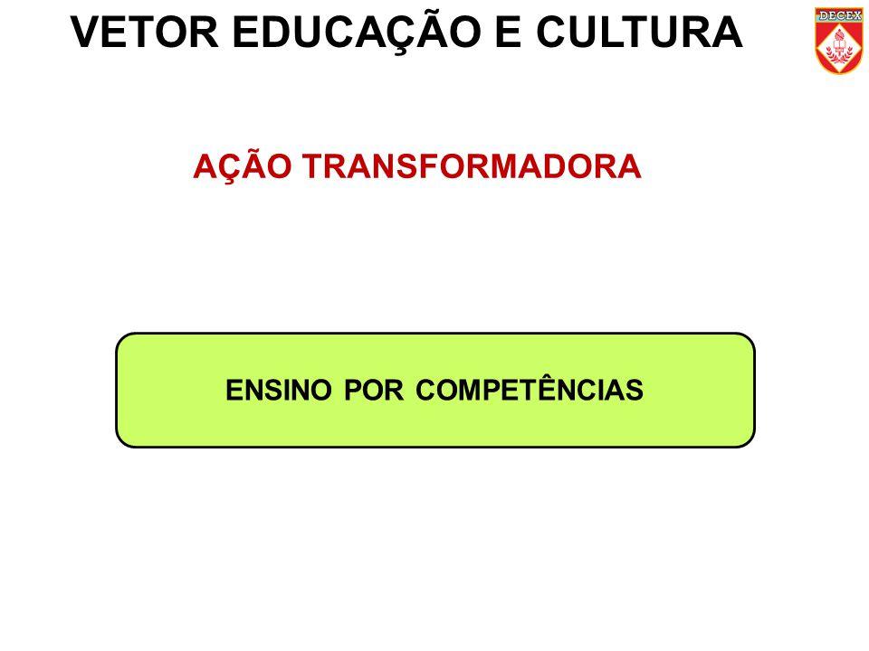 VETOR EDUCAÇÃO E CULTURA ENSINO POR COMPETÊNCIAS