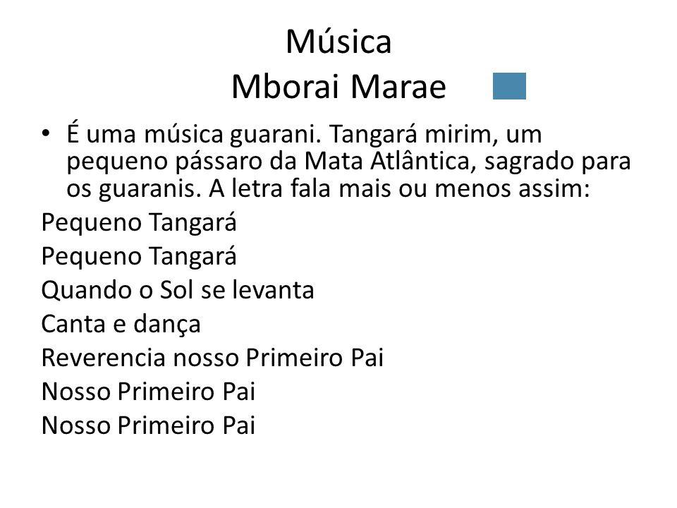 Música Mborai Marae