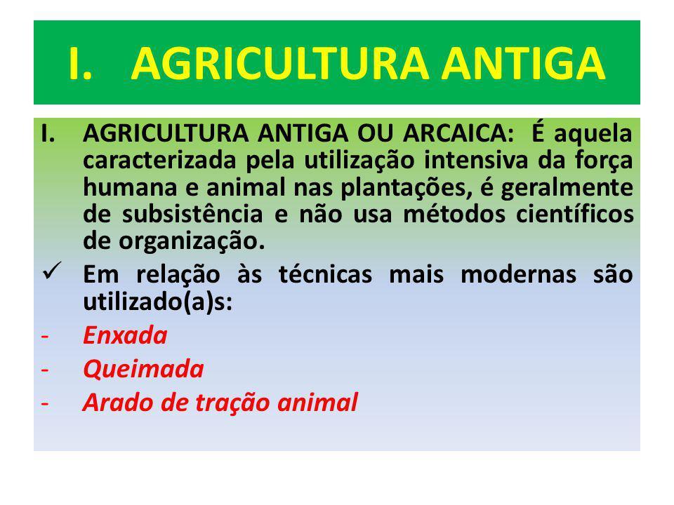 AGRICULTURA ANTIGA