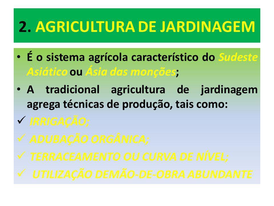 2. AGRICULTURA DE JARDINAGEM
