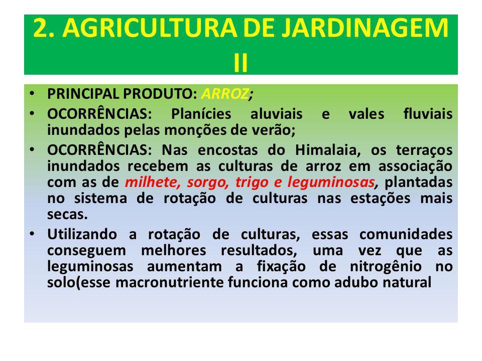2. AGRICULTURA DE JARDINAGEM II