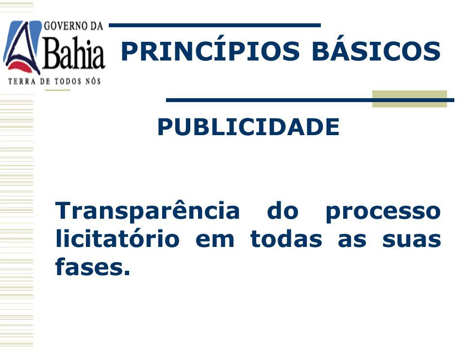 PRINCÍPIOS BÁSICOS PUBLICIDADE