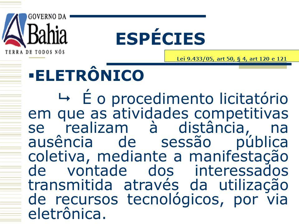 ESPÉCIES ELETRÔNICO.