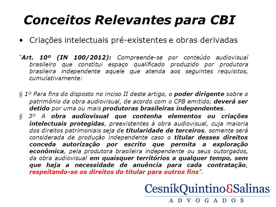 Conceitos Relevantes para CBI