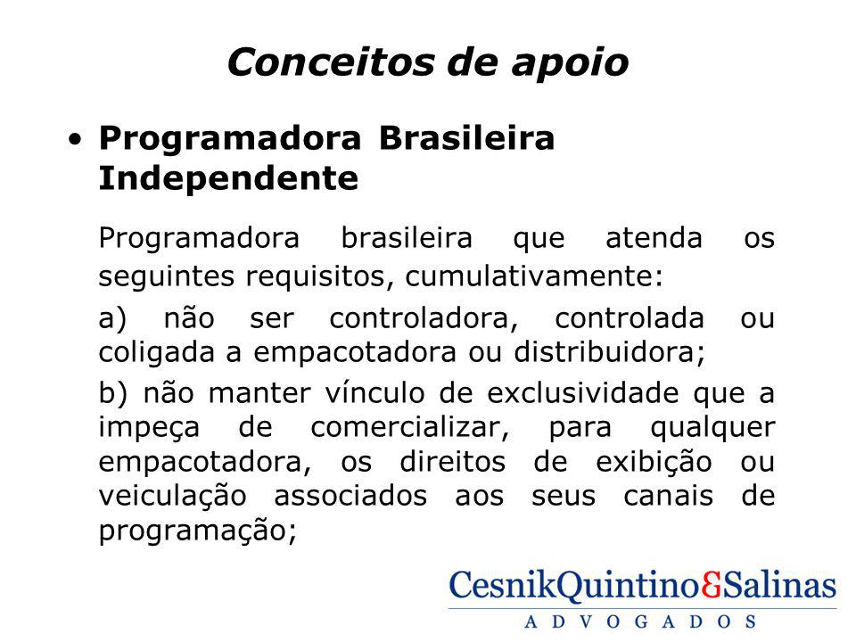 Conceitos de apoio Programadora Brasileira Independente. Programadora brasileira que atenda os seguintes requisitos, cumulativamente: