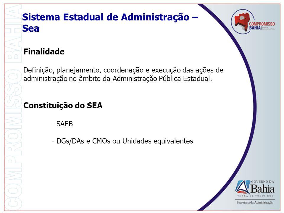 Sistema Estadual de Administração – Sea