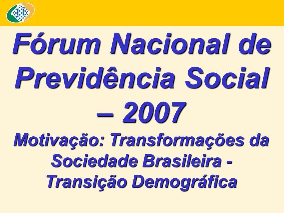 Fórum Nacional de Previdência Social – 2007
