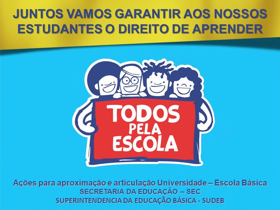 JUNTOS VAMOS GARANTIR AOS NOSSOS ESTUDANTES O DIREITO DE APRENDER
