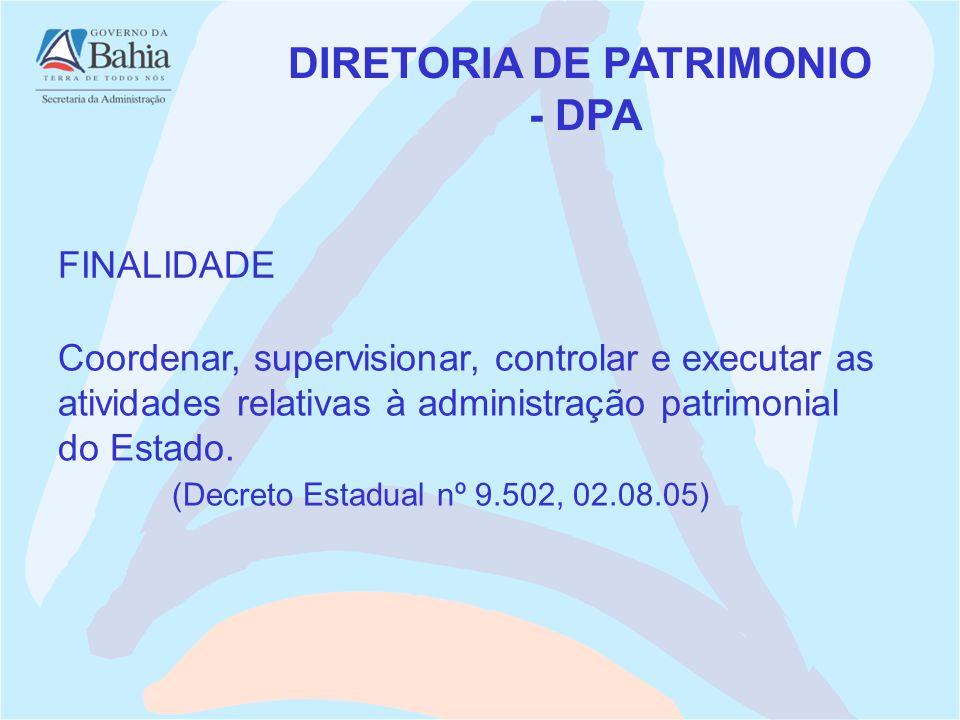 DIRETORIA DE PATRIMONIO