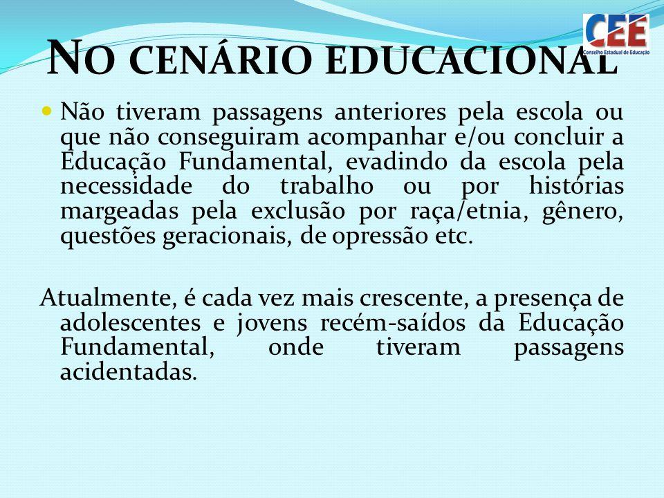 No cenário educacional