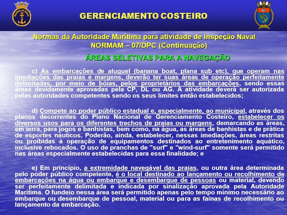 GERENCIAMENTO COSTEIRO