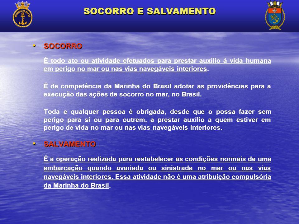SOCORRO E SALVAMENTO SOCORRO