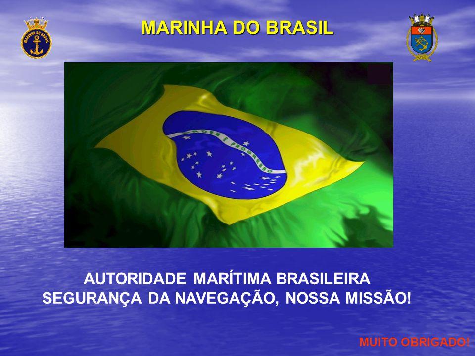 AUTORIDADE MARÍTIMA BRASILEIRA SEGURANÇA DA NAVEGAÇÃO, NOSSA MISSÃO!