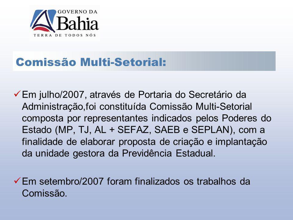 Comissão Multi-Setorial: