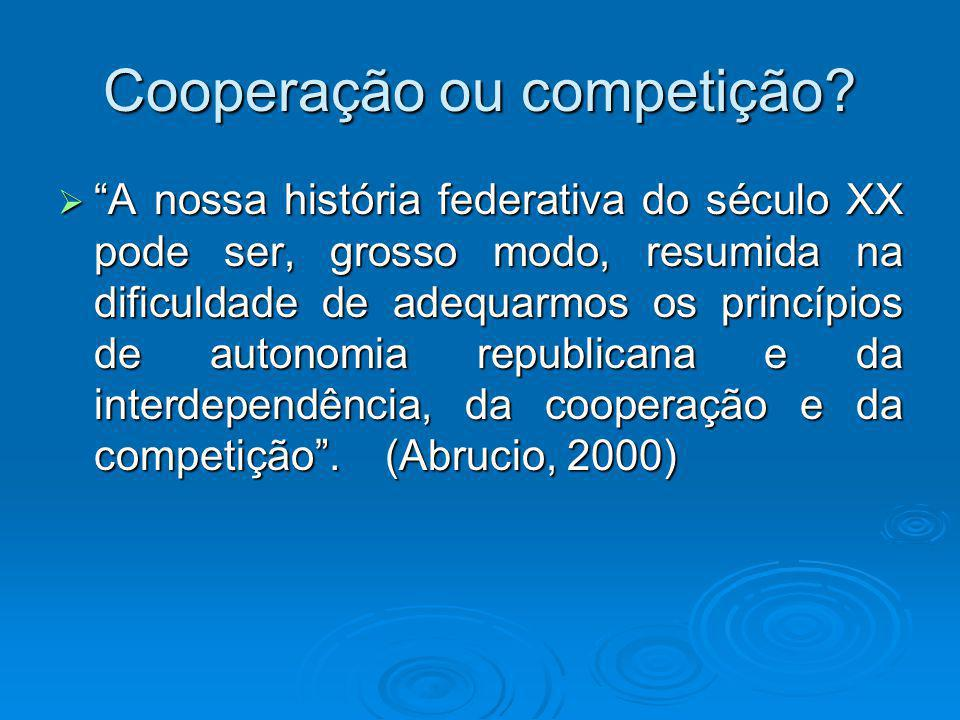 Cooperação ou competição