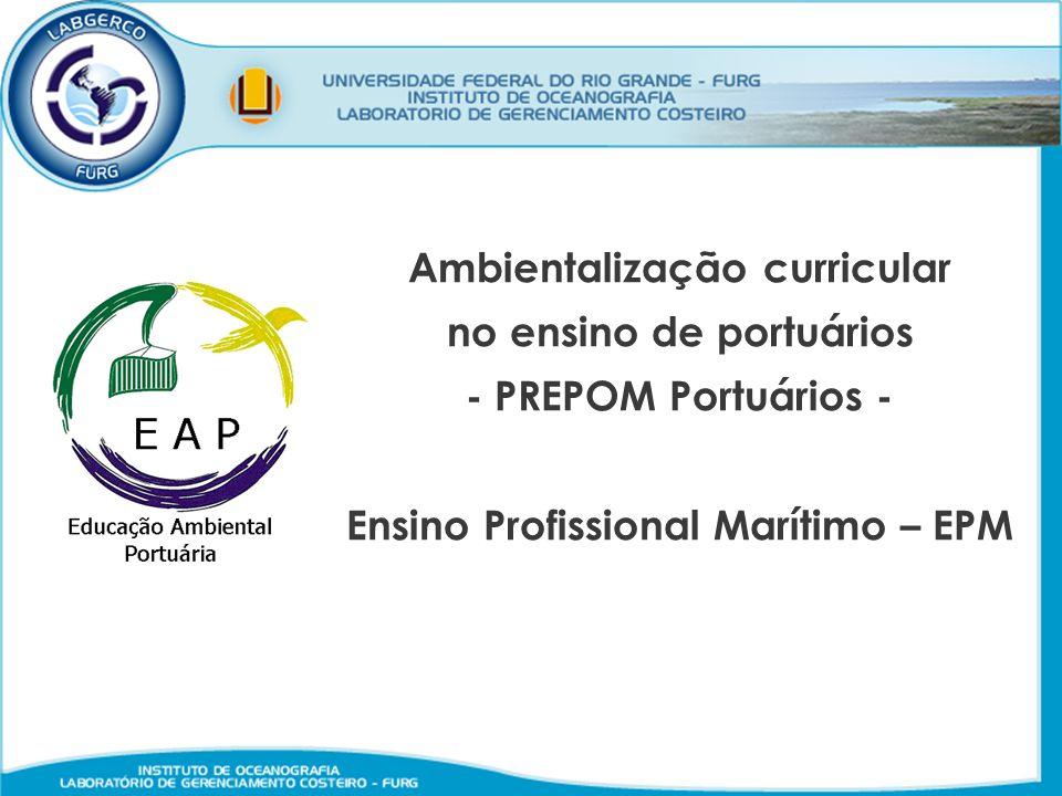 Ambientalização curricular no ensino de portuários