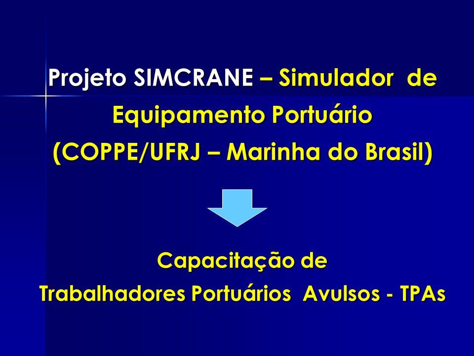 Projeto SIMCRANE – Simulador de Equipamento Portuário