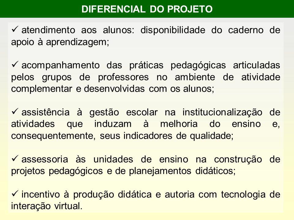 DIFERENCIAL DO PROJETO